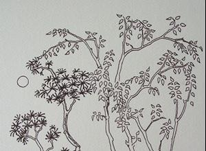 Detail Image for art tree study #10