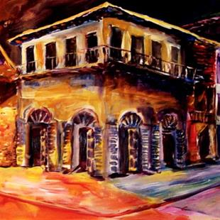 Art: Absinthe House - Commissioned by Artist Diane Millsap