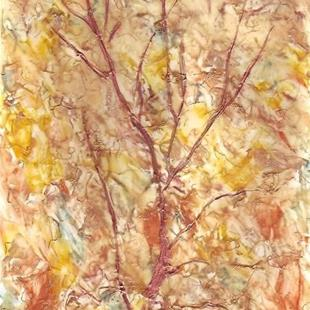 Art: Abstract Fall Tree by Artist Ulrike 'Ricky' Martin