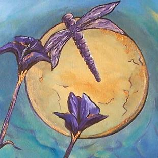 Art: Lunar Ballet ~ Sold by Artist Dana Marie