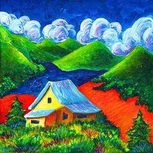 Art: Afternoon Storm in the San Juan's by Artist Christine Wasankari