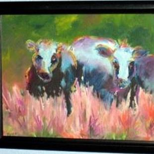 Art: Cows by Artist Deborah Sprague