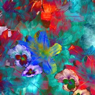 Art: Psych Lillies by Artist Carolyn Schiffhouer