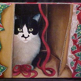 Art: Greetings From Zorro by Artist Rosemary Margaret Daunis