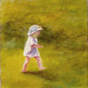 Art: A walk in the Park by Artist Deborah Sprague