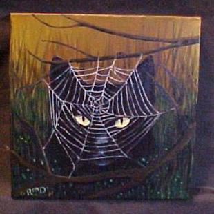 Art: The Spider's Web by Artist Rosemary Margaret Daunis