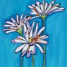Art: Daisy Joy by Artist Melanie Douthit