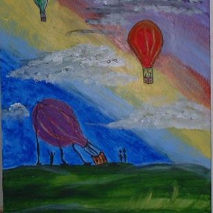 Art: Balloons For Mama by Artist Kathleen A. Roberson