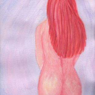 Art: Lustful in Pink by Artist Melinda Dalke