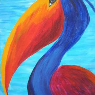 Art: Wild Pelican #2 SOLD by Artist Ke Robinson