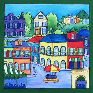 Art: New Orleans Favorites by Artist Melanie Douthit