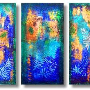 Art: Rain Forest II--From the Impressions Series by Artist Christine Wasankari