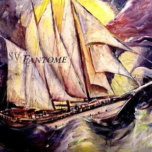 Art: Ghost Ship- SOLD by Artist Diane Millsap