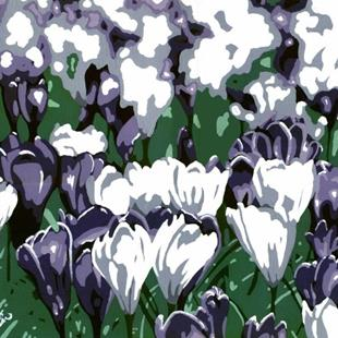 Art: Crocus - In & Out of Focus by Artist Kris Jean
