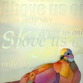 Art: Above Us Only Sky by Artist Lori Rase Hall