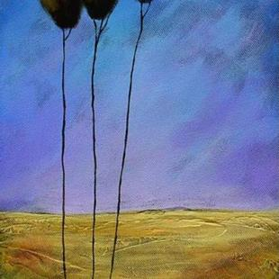 Art: Blue Sky by Artist Diane Funderburg Deam