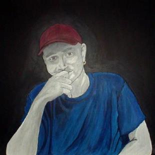 Art: Portrait of Jesse Ewers by Artist Melissa Morton
