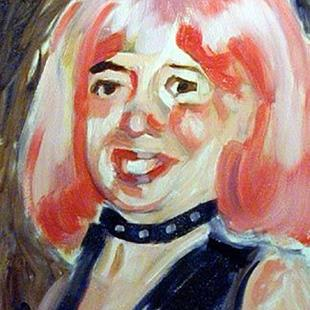 Art: Portrait of Jeanette Coltharp by Artist C. k. Agathocleous