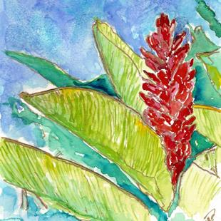 Art: Beauty of the Tropics by Artist Deborah Sprague