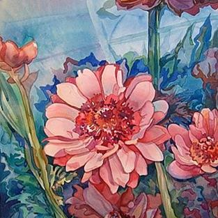 Art: Anemone Bulbs by Artist Lori Rase Hall