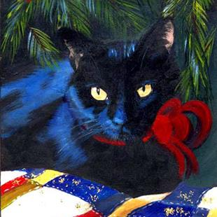 Art: Waiting for Xmas by Artist Caron Wiedrick