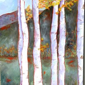 Art: Peaceful Surroundings by Artist Deborah Sprague