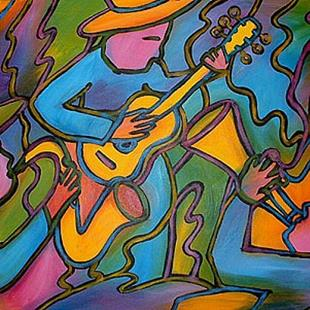 Art: All That Jazz by Artist Lindi Levison
