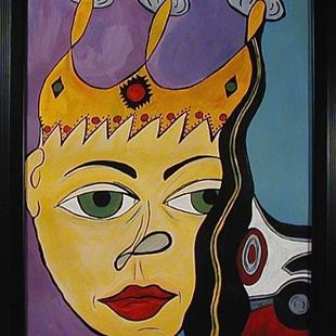 Art: King of the Krewe by Artist Jen Thario