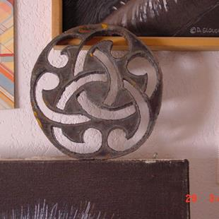Art: Celtic knot by Artist Denis Gloudeman