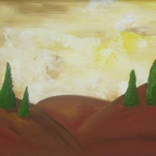 Art: TUSCAN VIEW 2 by Artist Eridanus Sellen
