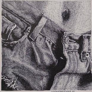 Art: Denim by Artist Denis Gloudeman
