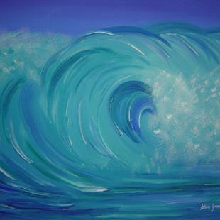 Art: Turquoise Mist- sold by Artist Stacey R. Zimmerman