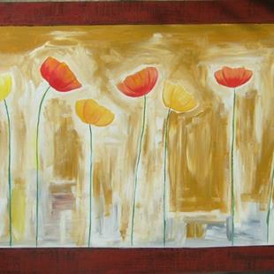 Art: POPPIES IN THE CITY 2 by Artist Eridanus Sellen