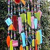 Art: Laughing Sprockets Wind Chime by Artist Dianne McGhee