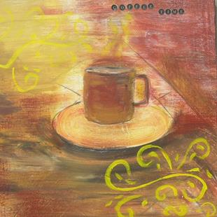 Art: COFFEE TIME by Artist Eridanus Sellen
