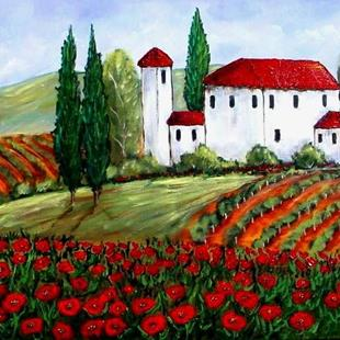 Art: French Country by Artist Diane Funderburg Deam