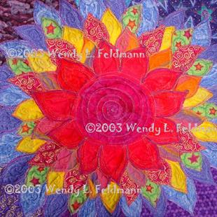 Art: The Birth Lotus by Artist Wendy L Feldmann