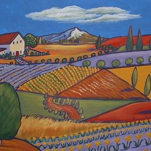 Art: Ferme De Fleur by Artist Virginia Kilpatrick