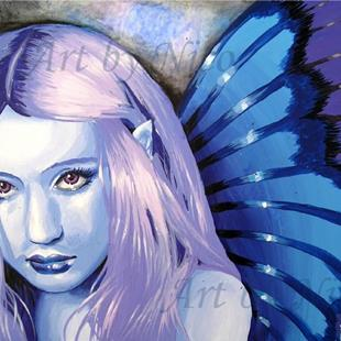 Art: Blue Fairy by Artist Nico Niemi