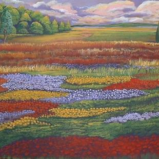 Art: Summer Meadow by Artist Virginia Kilpatrick