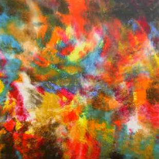 Art: QUASAR - sold by Artist Bonnie G Morrow