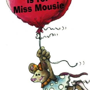 Art: M is for Miss Mousie by Artist Ann Murray