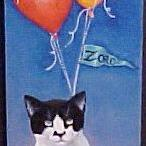 Art: Zorro's Birthday by Artist Rosemary Margaret Daunis