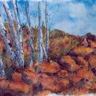 Art: Fall @ Plaisance by Artist Deborah Leger
