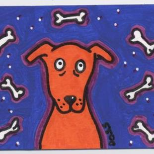Art: Hypnotized ACEO by Artist Jenny Doss