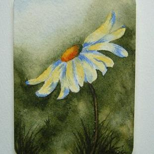 Art: Daisy Series, Card 2 by Artist Deborah Leger
