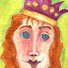 Art: Queen Isabella by Artist Dianne McGhee
