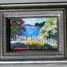 Art: Sailing on a Sunny Day by Artist Deborah Sprague