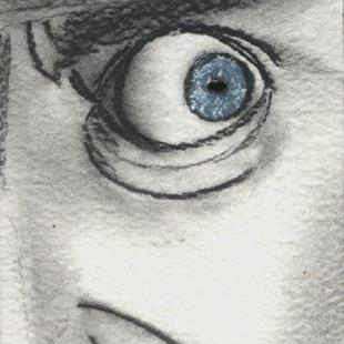Art: He's got Marty Feldman Eyes by Artist Victor McGhee