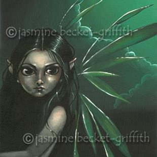 Art: Moonlit Faerie by Artist Jasmine Ann Becket-Griffith